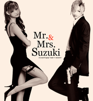 Mr and Mrs Suzuki by xResonantTragedy