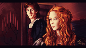 Cesare and Lucrezia by MissFuturama
