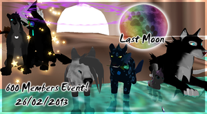Last Moon (MMORPG) 600 Members Event! by RakshaWw