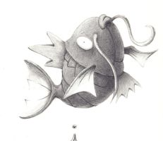Magikarp Sketch by Gscreen2