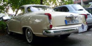 Borgward Isabella Coupe [rear view] by someoneabletofindana