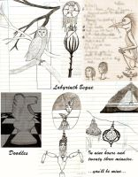 Labyrinth Esque sketches by sitres