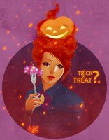Trick or Treat? by utenaxchan