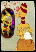 PKMC - Giratina sees through Mirrors by Lazy-a-Ile