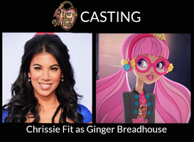 Chrissie Fit as Ginger Breadhouse - EAH LA by ThunderFists1988