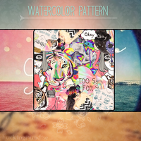 Watercolor Pattern by iFuckingParadise