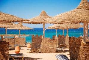 the beach of Hurghada, Egypt by 2-0-1-9