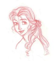 Portrait of Belle by kuabci