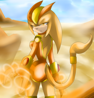 Commisson: Desert Warrior by Gemzybabee