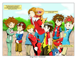 bedmund01 request Digimon Forever by MystressCrowler