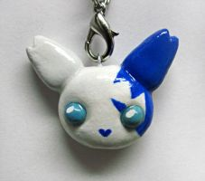 Chibi Shiny Zangoose Charm by caffwin