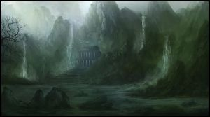 Sanctuary In The Mountains by Narandel