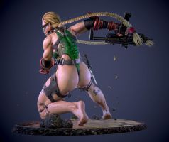 streetfighter cammy barefeet.ver by ruyueyoufei