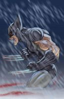 Wolverine Uncanny X-Force by ChrisOzFulton