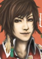 Dynasty Warriors 6: Lu Xun by forbiddenist