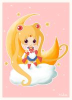 chibi sailormoon by mikakoO