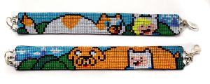 Adventure Time Bracelets by PookNero