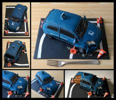 Driving Licence Cake by CakeUpStudio