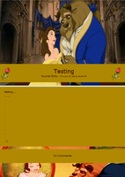 Beauty and the Beast Journal Skin by Kaoru-Hitachiinn