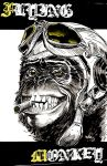 FLYING MONKEY print by urban-barbarian