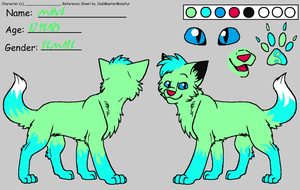 mint ref sheet by Animallover08