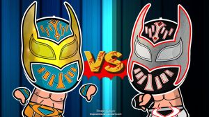 Sin Cara vs Sin Cara Wallpaper by kapaeme