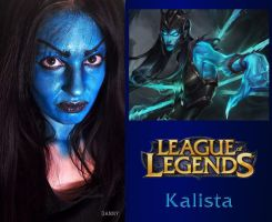 Kalista League of Legends - Make-up by DannyBocabit
