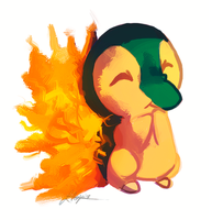 Cyndaquil by Endber