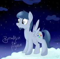 Button Mash The Pegasus by Balloons504