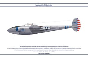 P-38J USAAF 432nd FS 1 by WS-Clave