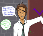 Lance has Bad Pickup Lines by Seraph13l