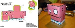 'Elliot' flatpack toy by logaan