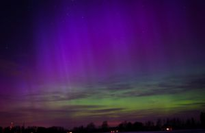 Northern lights in Estonia by dn1w3r