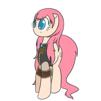 Megurine Luka - Pony Version by TastyPony