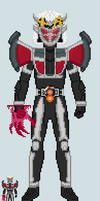 Toku sprite - Fifteen (Conja Arms) by Malunis