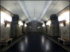 Art of Moscow Metro. 07. by VeIra-girl