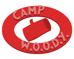 Camp W.O.O.D.Y.: The Logo V2 by DaCommissioner