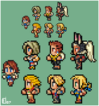 Final Fantasy mixup by emlan