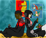 Spider Game Date by Slytherin-Decepticon