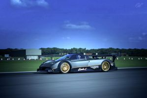 Pagani Zonda R - Too much? by MercilessOne