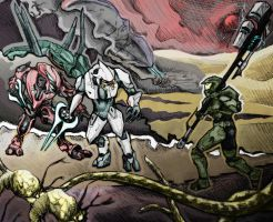 Halo - The Odds color by porfy-is-life