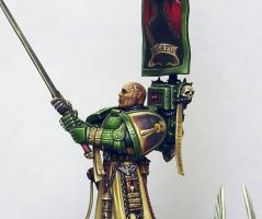 Azrael,Supreme Grand Master of the Dark Angels by kadiel1