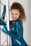 Alina in Blue by catsuitmodel