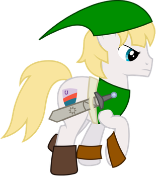 Squire as Link by 4-Chap