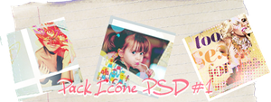 Pack psd icone 1 by MoonArt0