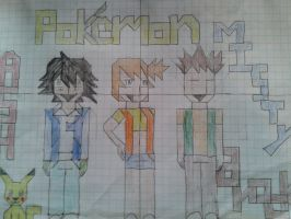 Graphing the Original PokeGang! by pokemonpuppy1