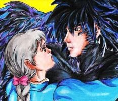 Howl  x Sophie by AlexisLynch