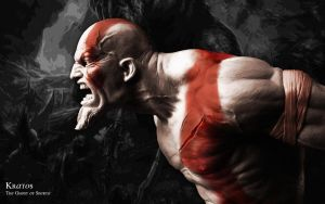 Kratos: The Ghost of Sparta by AminATM
