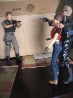Resident Evil 1/6 scale figures The great reunion by Demon-Lord-Cosplay