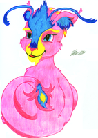 Lox's Pink Dragon by treznorspants
